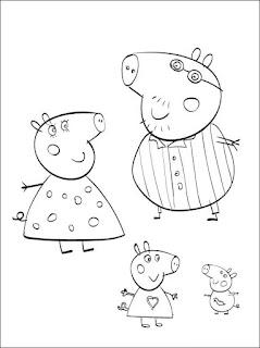 Ζωγραφιές με την Πέππα το γουρουνάκι
