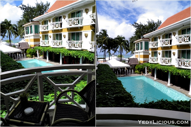 Premiere Deluxe Sea View  at Boracay Mandarin Island Hotel