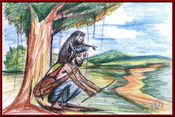 The Story of a Snake Charmer And Monkey In Hindi, दुष्ट सपेरा और बंदर की कथा