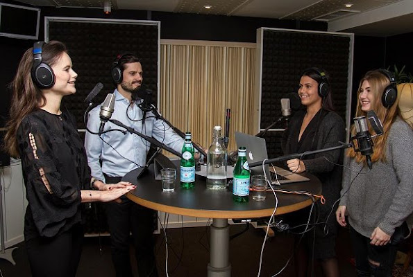 Prince Carl Philip and Princess Sofia Hellqvist of Sweden have recorded a podcast with the hosts Isa Galvan and Linnea Holst