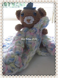 teddy snuggle, blanket