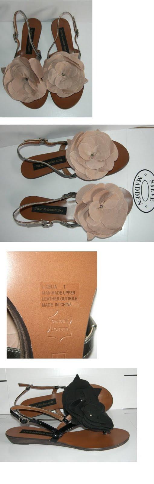 31b8f7c11 Motte Preorder  Steve Madden Luxe Celia Flower Sandals