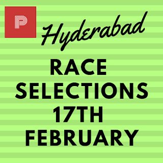 Hyderabad Race Selections 17th February-indianracepunter