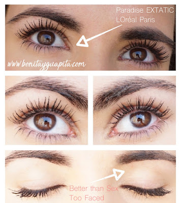 paradise extatic loreal mascara better than sex too faced