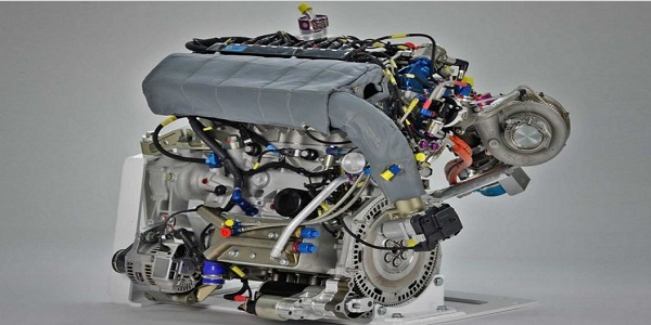 2017 Volkswagen Polo R WRC Engine