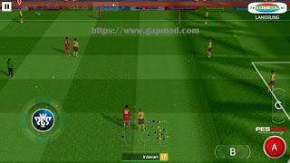 Download FTS Mod PES League 1 Gojek Apk + Data Obb