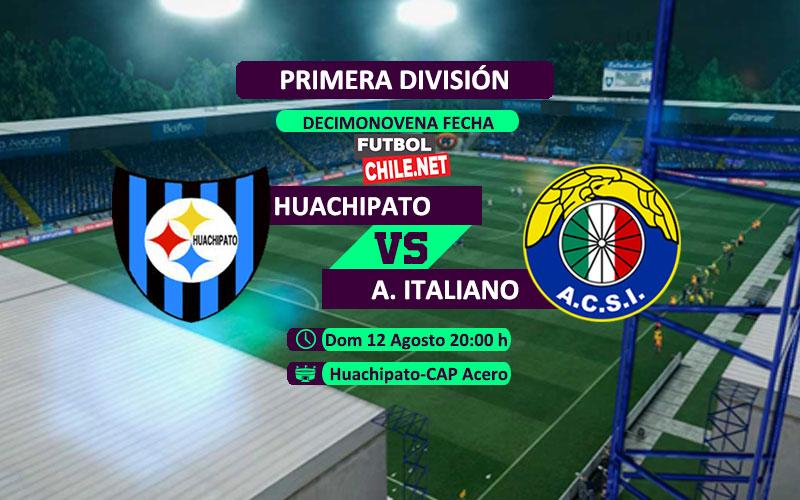 Mira Huachipato vs Audax Italiano en vivo y online por la Primera División de Chile