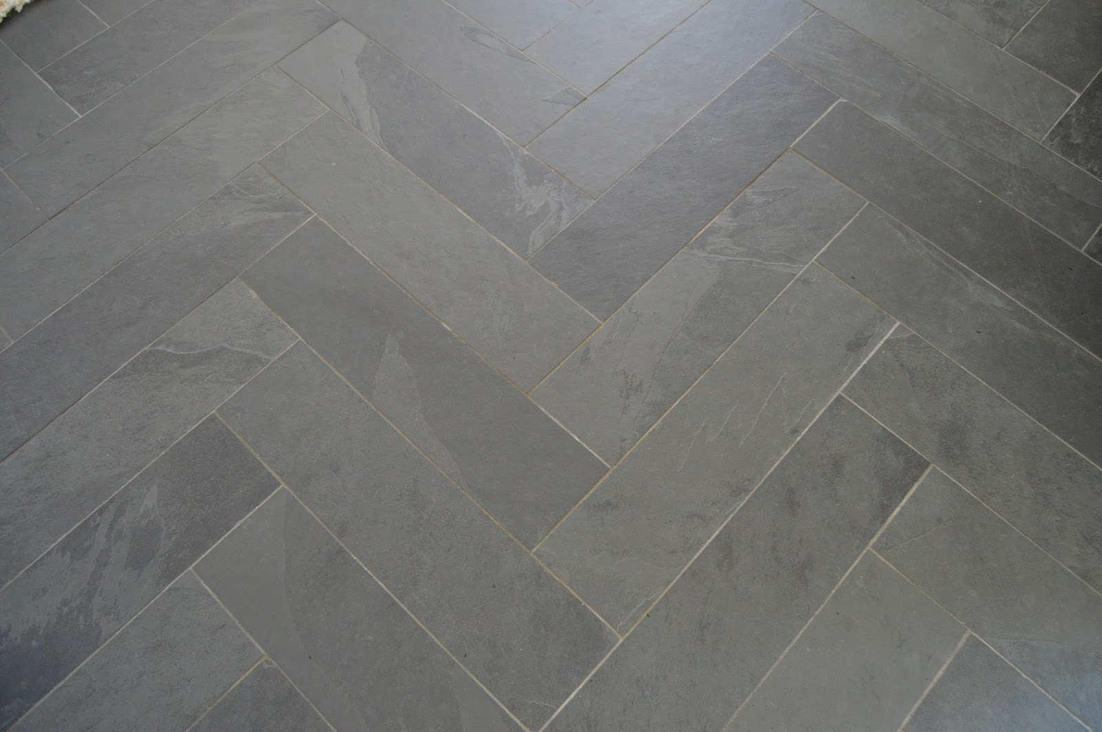 The Tiles Look Just Fine But If You Closely At Grout Lines Beautiful Light Gray Now Has Variations Of Darkness In It