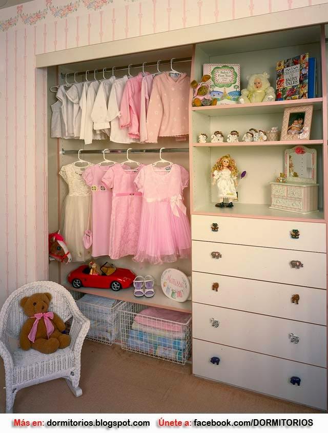 Closet para ni os closet para ni as for Closet de madera para dormitorios