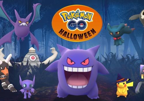 Pokémon GO, Dia das bruxas