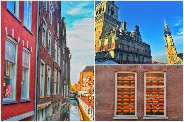 Canal – Ayuntamiento y Nieuwe Kerk de Deflt - Quesos