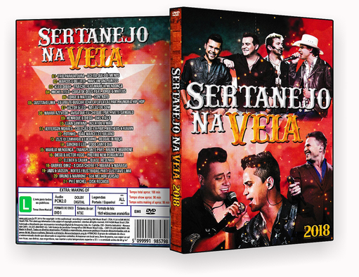 CAPA DVD – Sertanejo Super Homem Chora – ISO
