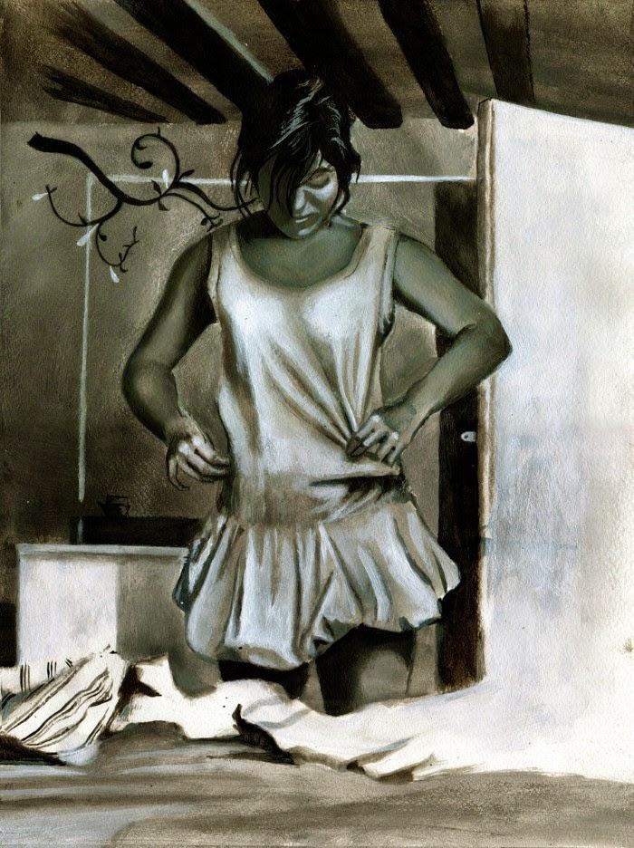 Бразильский художник. Marcos Vinicius