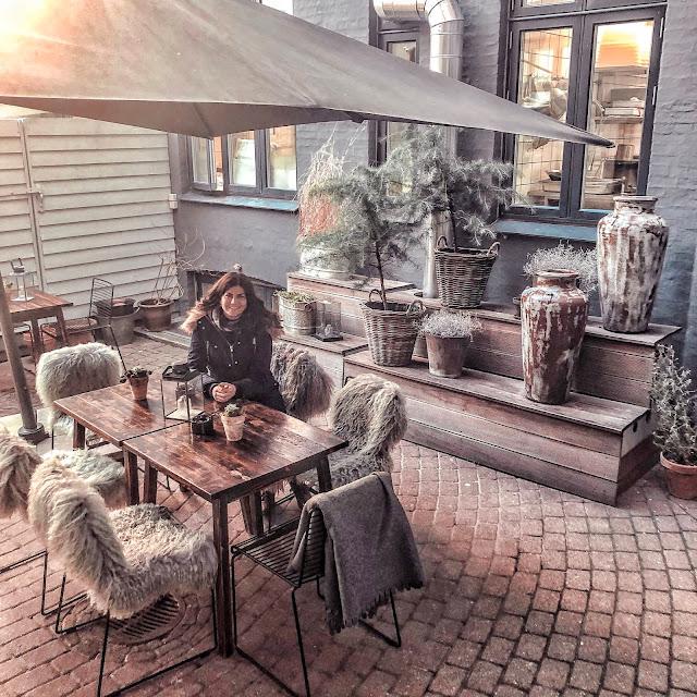 Ibsens Hotel Copenhagen courtyard