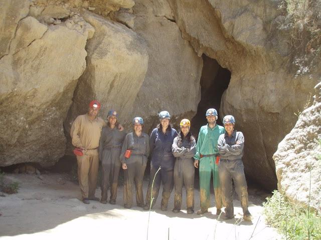 Espeleología en las Cuevas de Sorbas, Almería