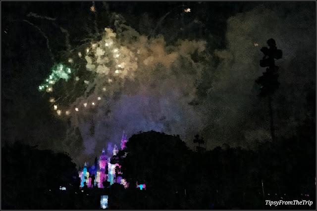 Firework, Disneyland, California.