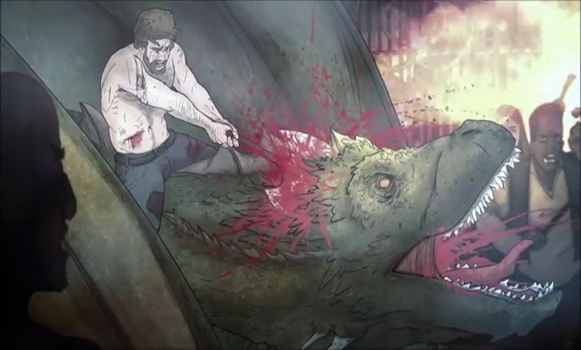Kill the Dragon - Game of Trones