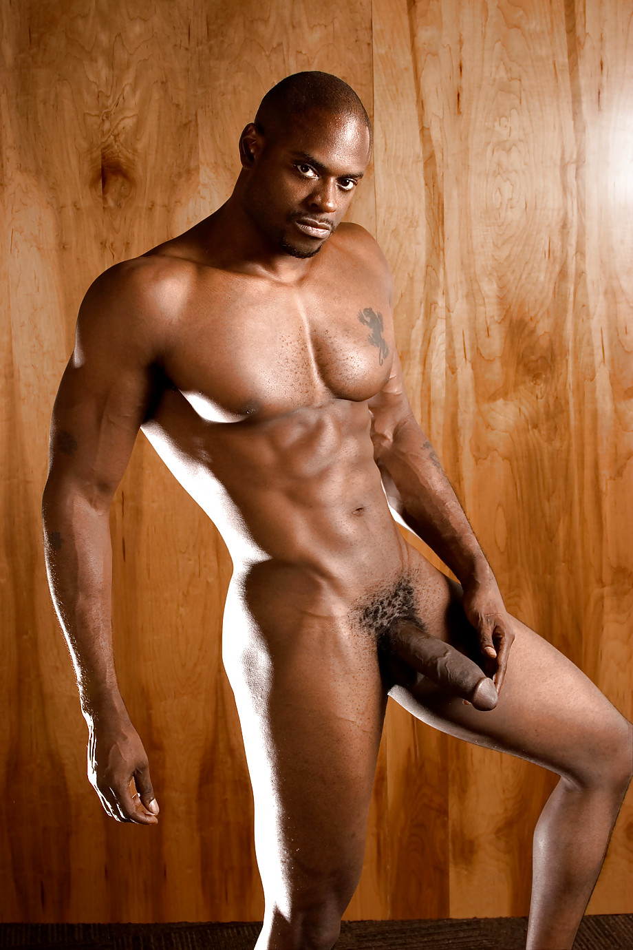 Nude Black Hunks
