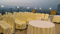 Open sky sitting arrangements Hotels Banquets