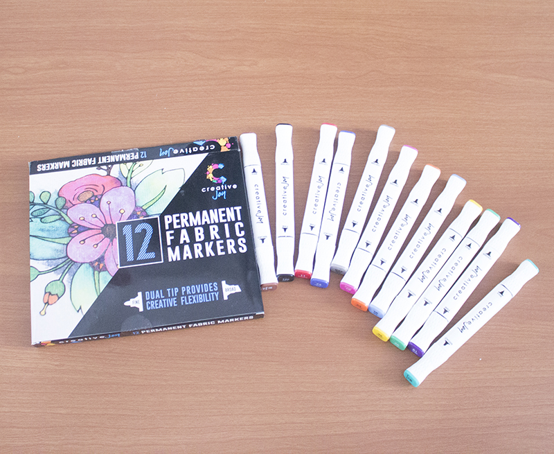 fabric markers set