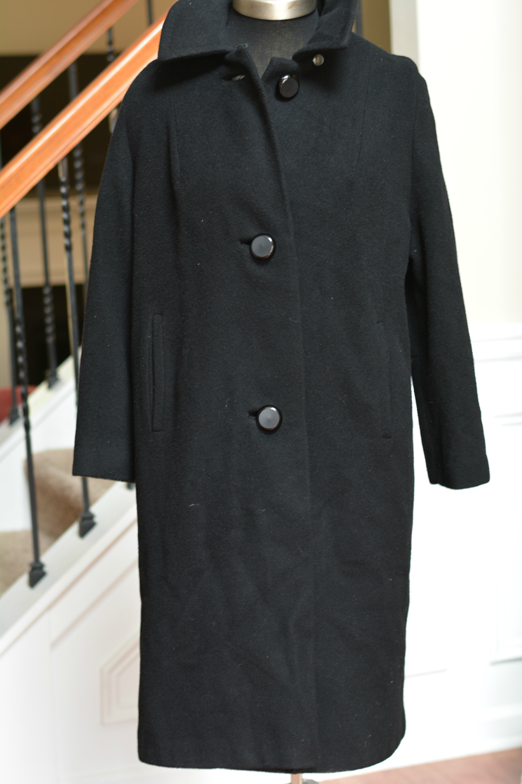 vintage cashmere coat thrift haul