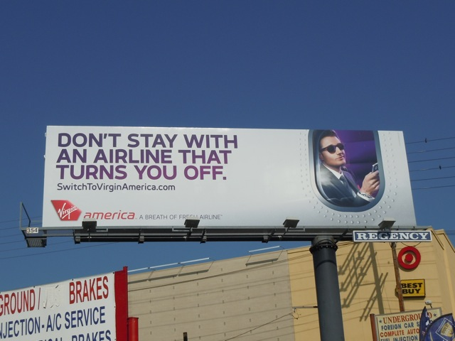 Virgin turns you off billboard