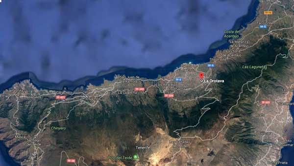 un hombre de 61 años mata a su esposa y dos hijas de corta edad en la Orotava, Tenerife