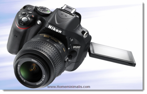 Spesifikasi Lengkap Kamera Nikon D5200 Terbaru