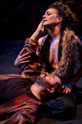Saint-Saens: Samson et Dalila - Grimeborn Festival - Leonel Pinheiro, Marianne Vidal (photo Robert Workman)