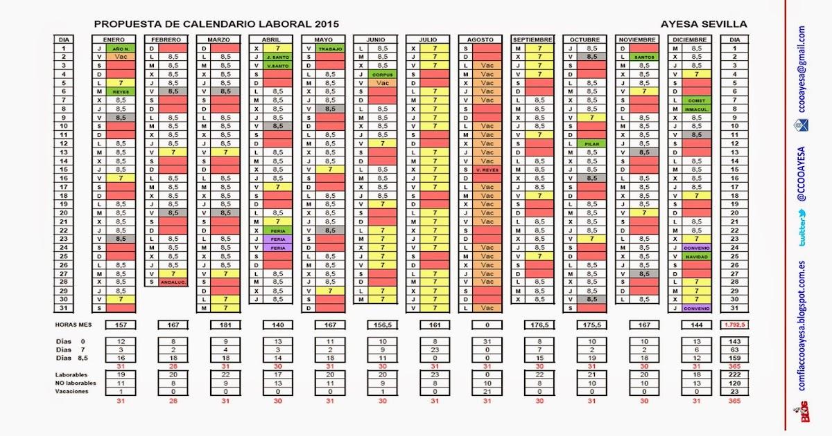 Calendario De Liga Bbva 2020 16.Calendario Laboral Sevilla