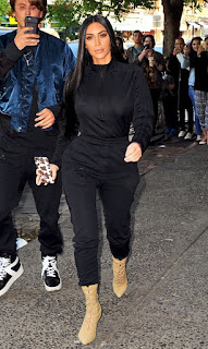 Kanye West and Kim Kardashian staying apart