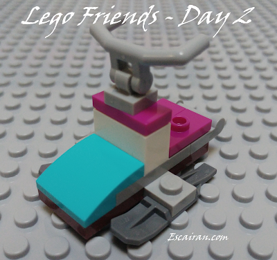 Lego Friends advent calendar 2017 day 2