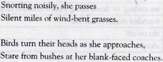 Night mail Poem Stanza 3