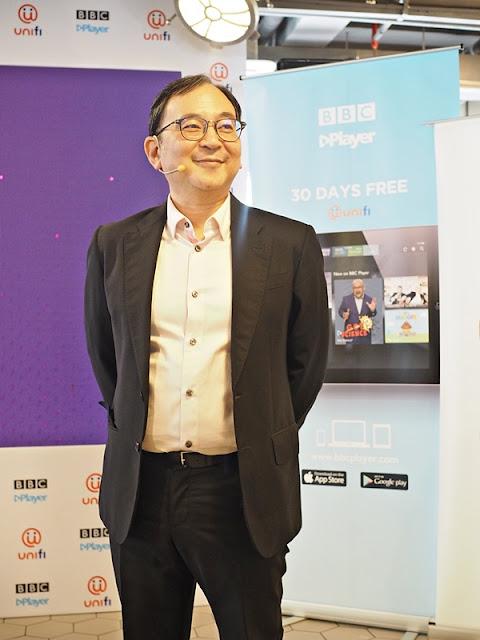BBC Player Launch Ryan Shiotani - Vice President Content Asia BBC Studios