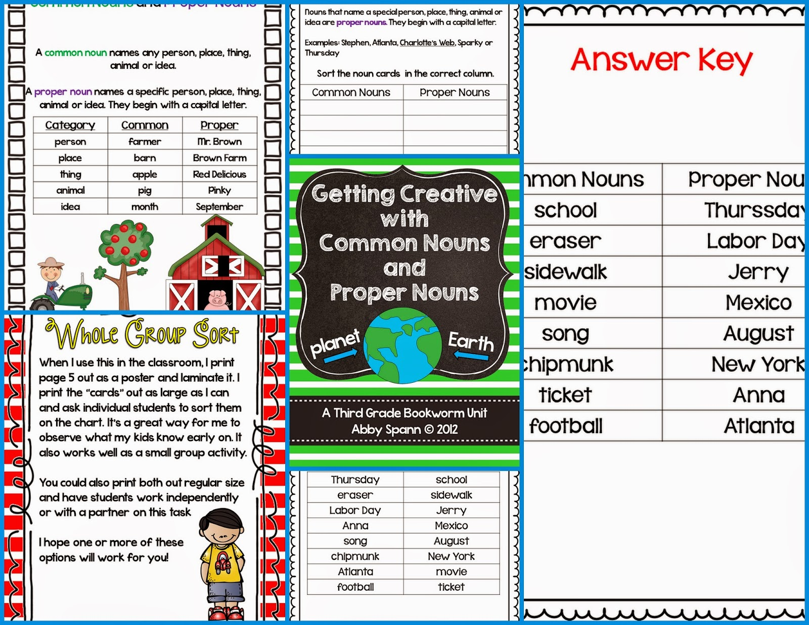 http://www.teacherspayteachers.com/Product/Getting-Creative-with-Common-Nouns-and-Proper-Nouns-320293