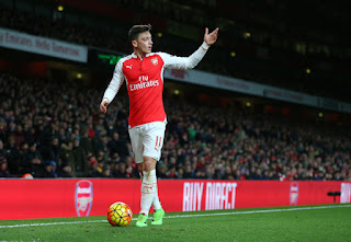 Mesut Ozil Reveals Why He Is Not Interested in Thierry Henry's Record
