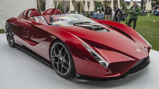 Ferrari Enzo  designer reveals his own super sport car Kode 57 - CARBYCARS