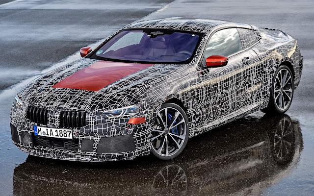 BMW Série 8 Coupé 2018