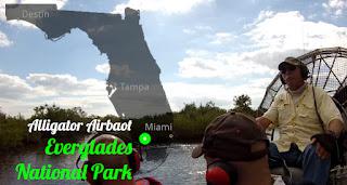 Everglades: Luftkissenboot Everglades City