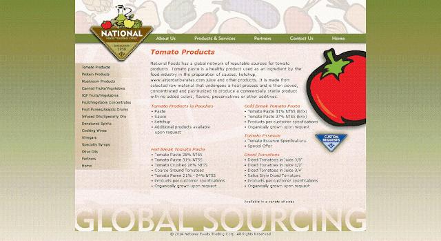 abd domates salcasi ithalatci firmalar listesi | National Food