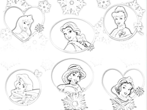 Cool Disney Princess Coloring Pages From Disney Princess Coloring Pages To  Print Out