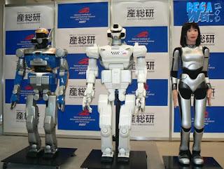 Robot manusia asal jepang