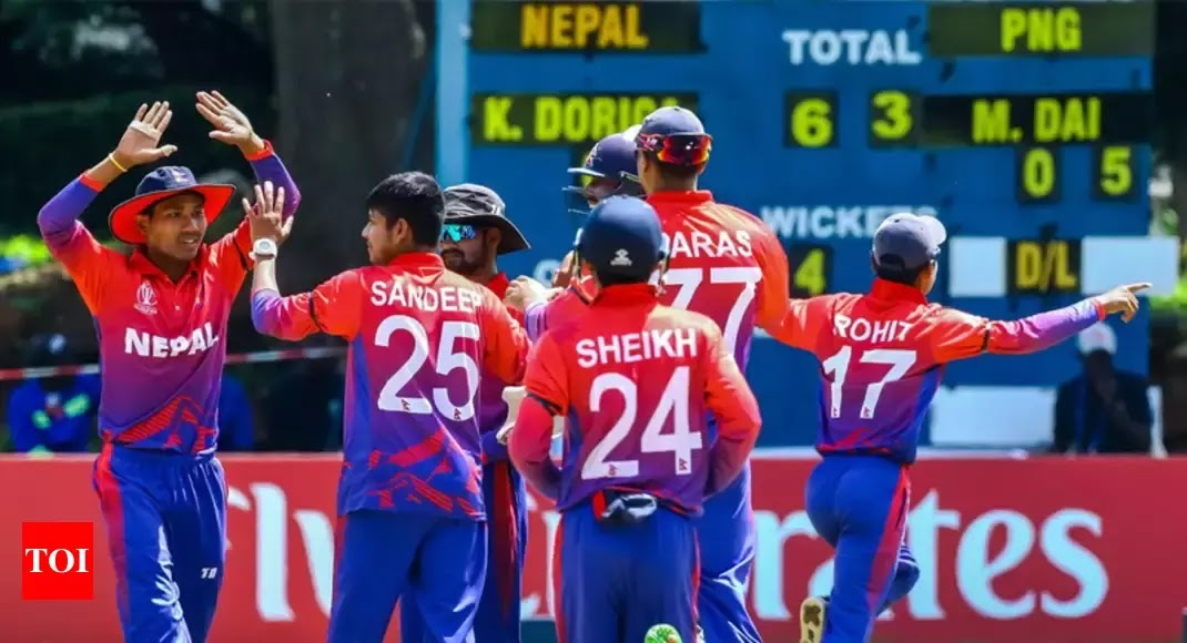 Nepal VS UAE - Schedule 2019