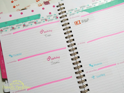 DIY Planner Stickers | My Style Stamps - Plan It All | Created by Danielle Pandeline