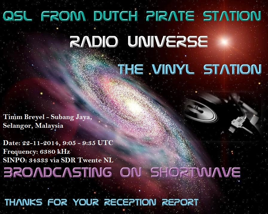 SOUTH EAST ASIA DXING: Radio Universe