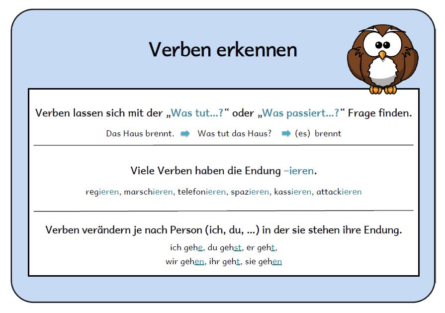 Luxury Substantive Verben Adjektive Arbeitsblatt Elaboration ...