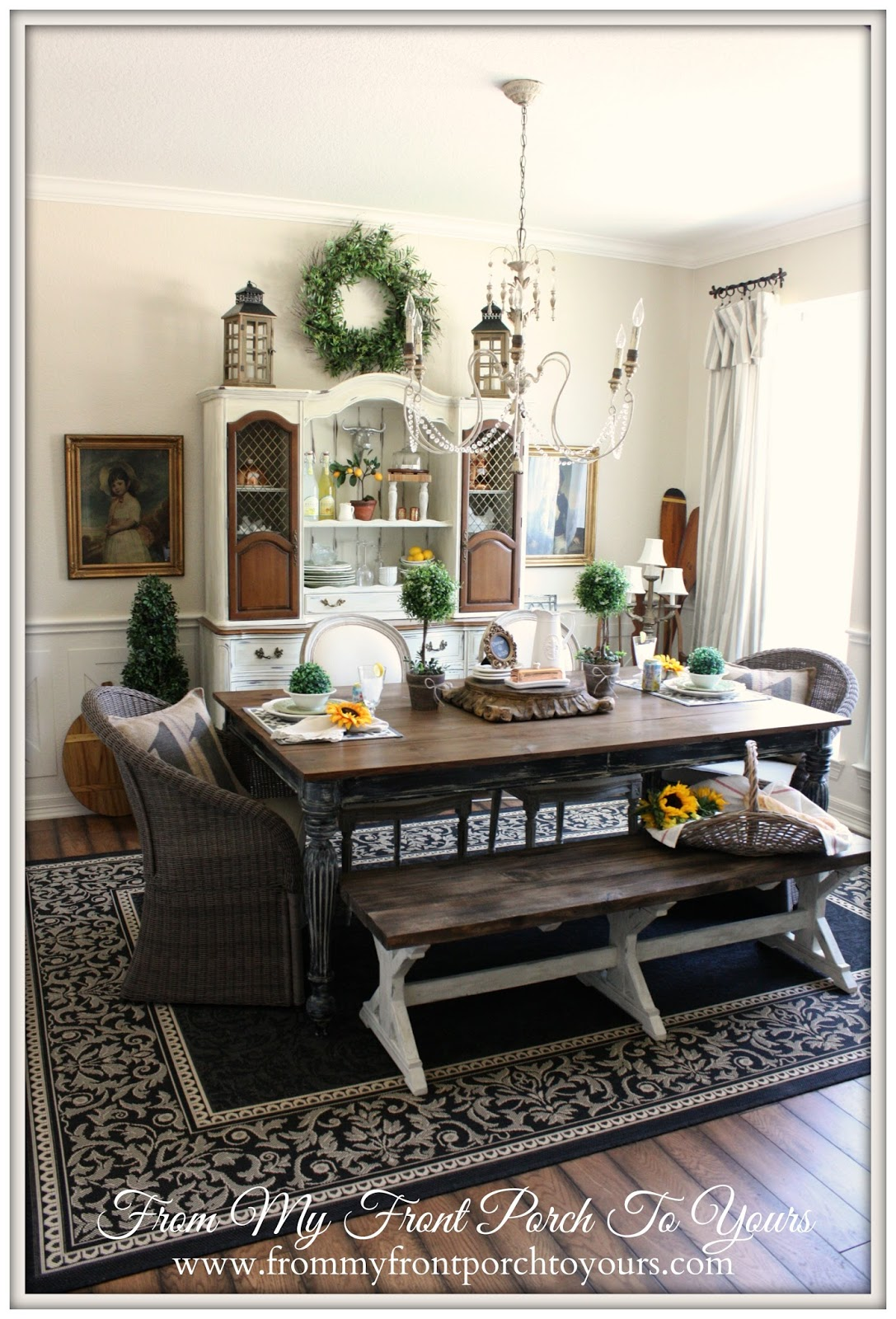 French Country Decorating Living Room France