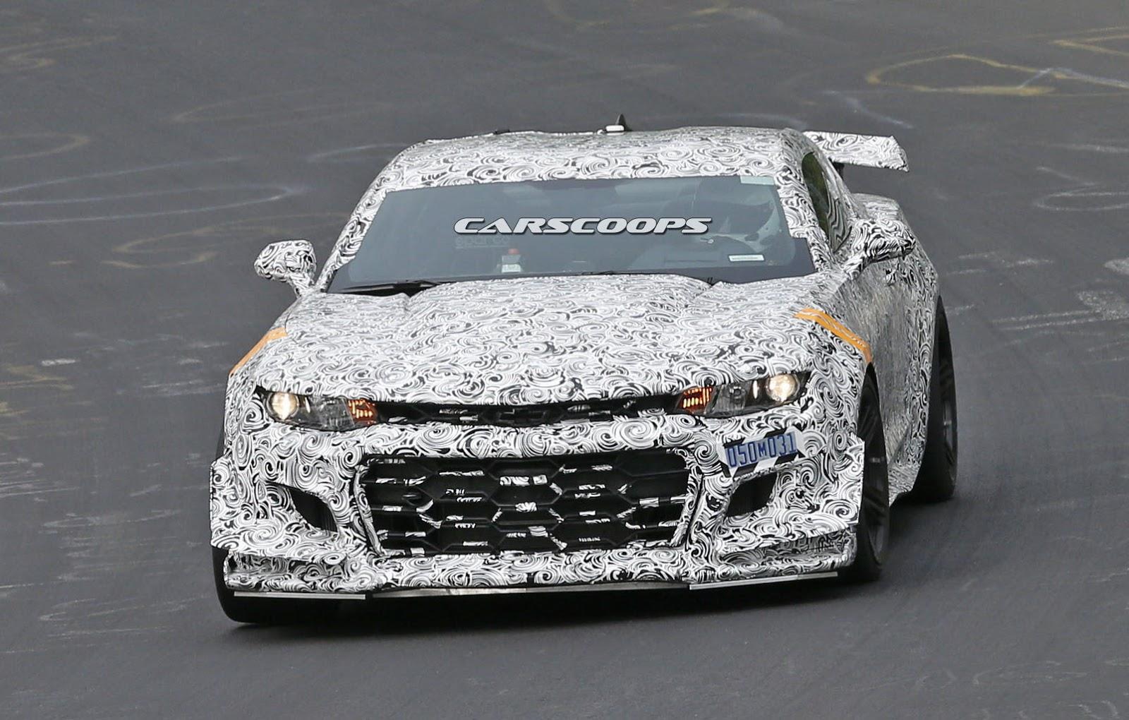 2016 - [Chevrolet] Camaro VI - Page 5 2018-Camaro-Z28-1