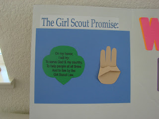 girl scout law craft ideas six our scout meeting 6635