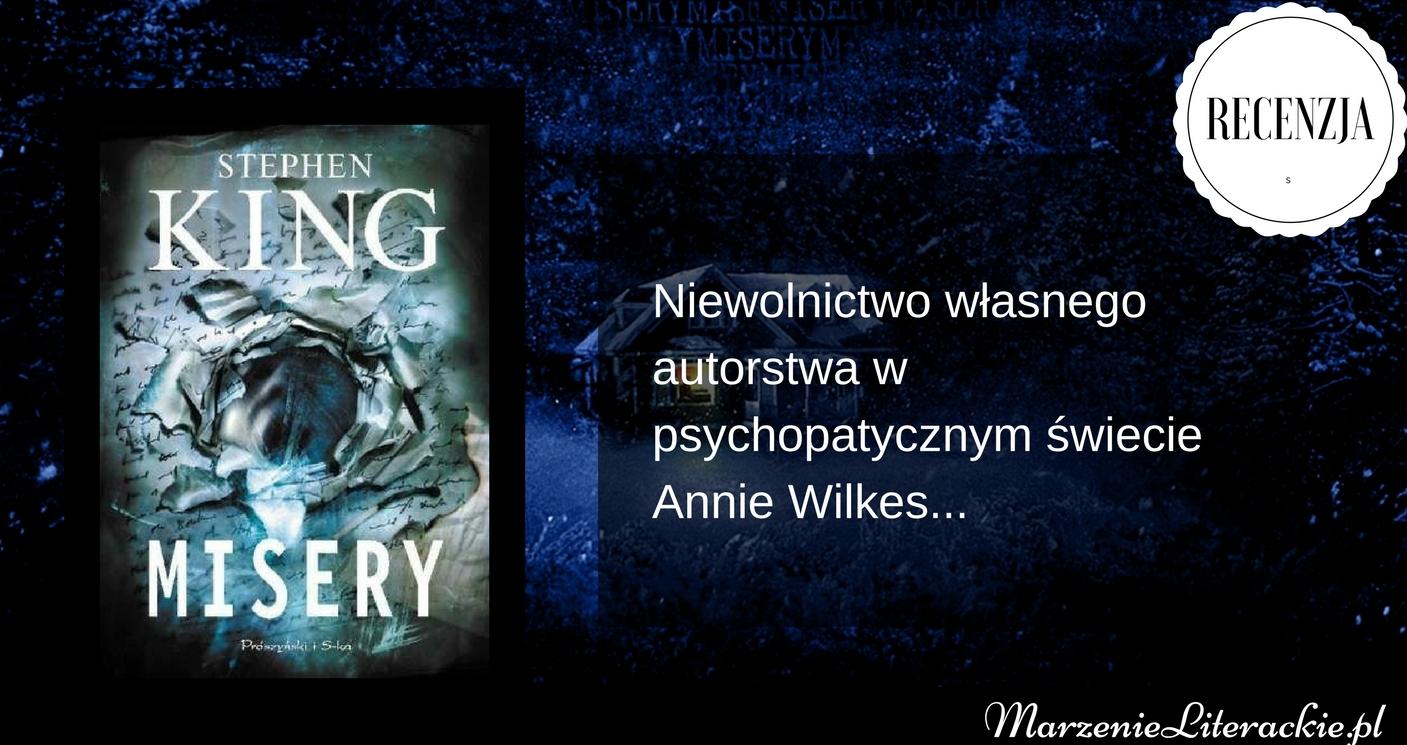 stephen king, misery, książka
